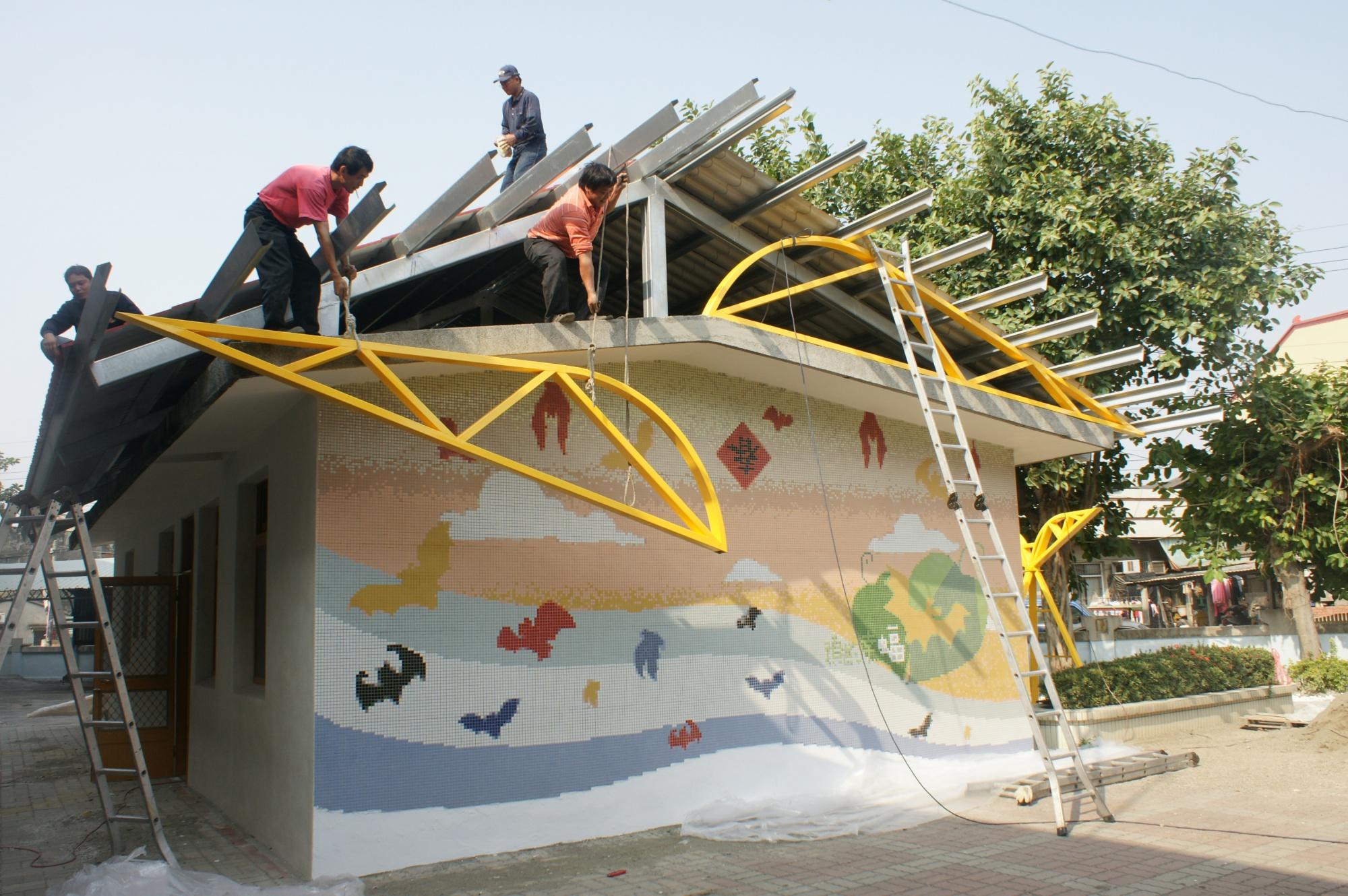 防水屋頂興建