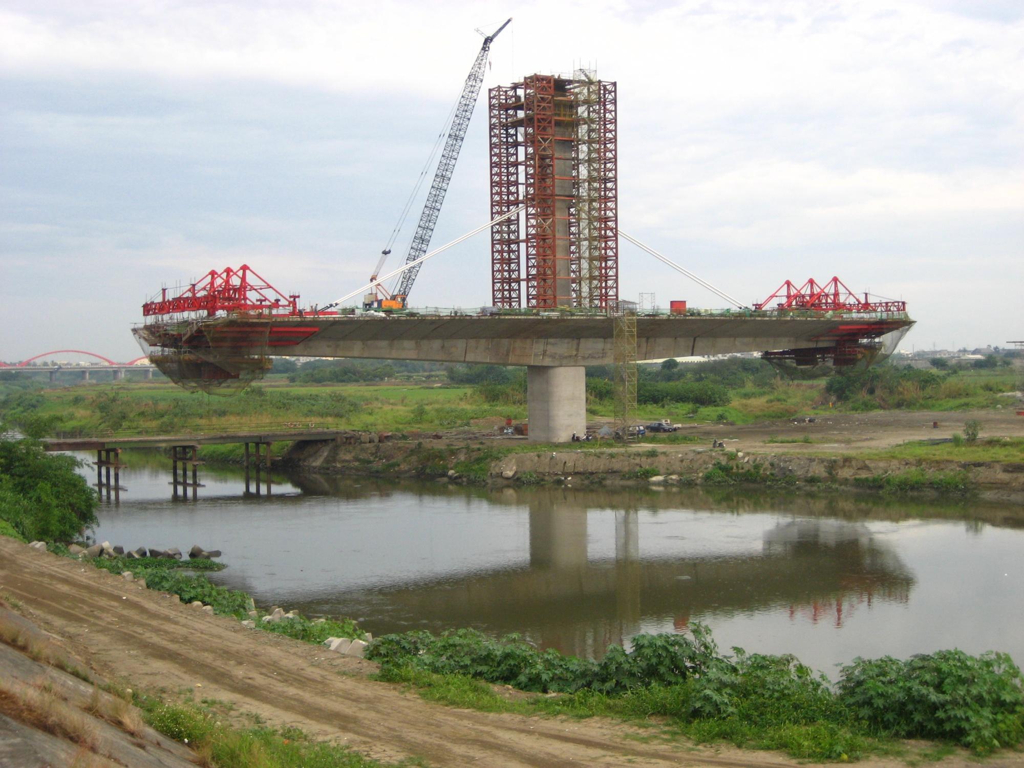 北港大橋的開發影響到金黃鼠耳蝠的覓食