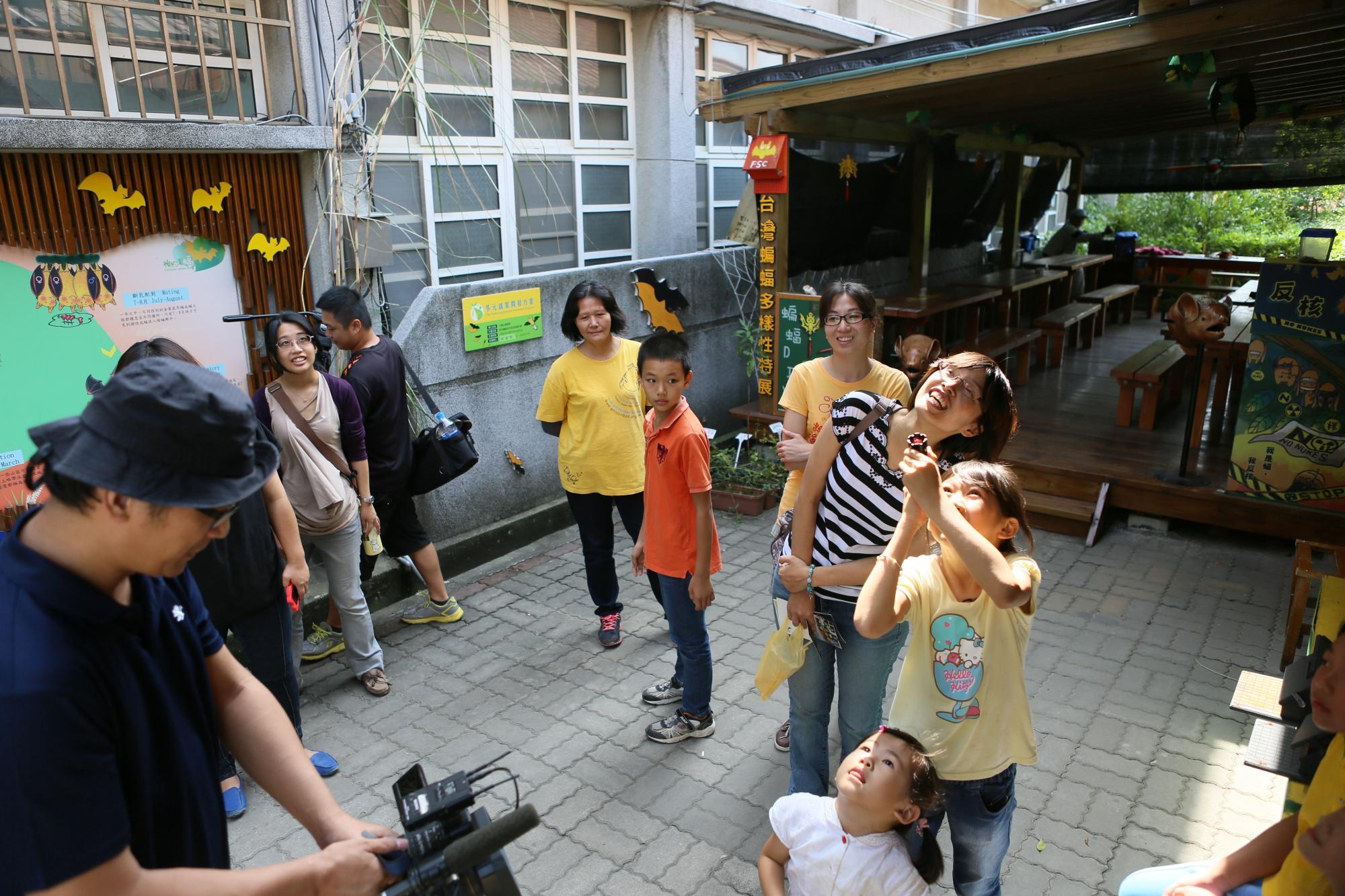 2011年6月大愛電視台地球的孩子節目錄影