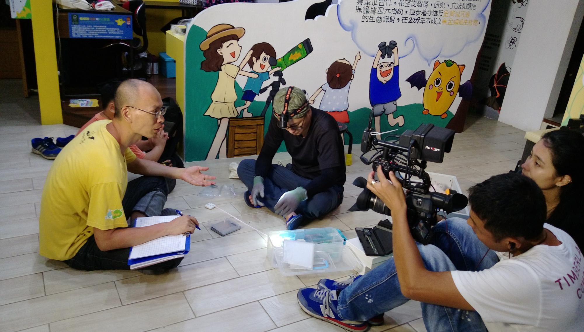 2016年9月大愛電視台小人物大英雄節目錄影